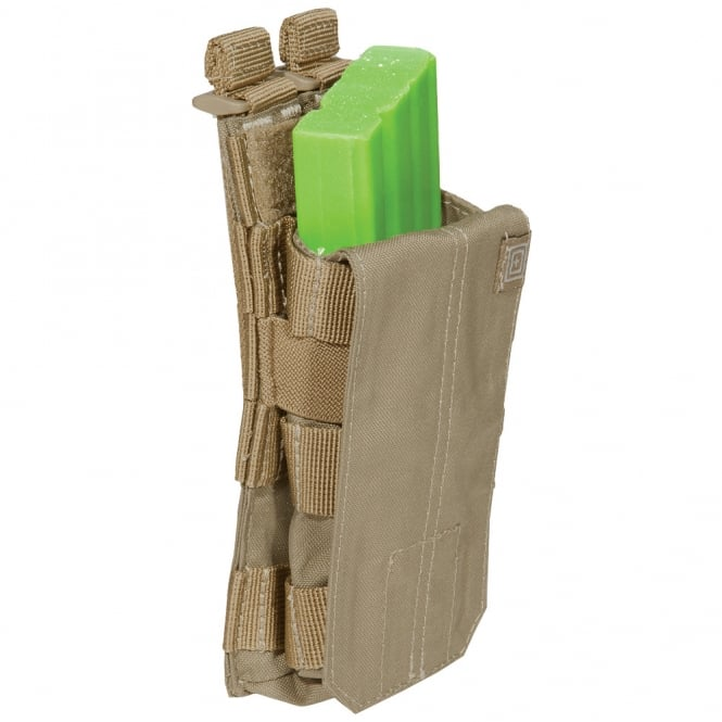5.11 Tactical AR Mag Pouch with Cover Single - Sandstone