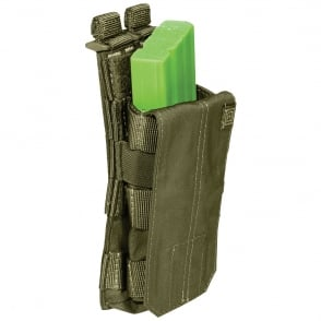 5.11 Tactical AR Mag Pouch with Cover Single - Tac OD (Olive Drab)