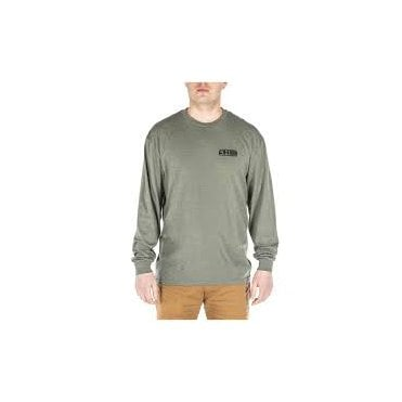 5.11 Tactical Banners & Bayonets Long Sleeved T-Shirt - Military Green Heather