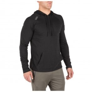 5.11 Tactical Cruiser Performance Long Sleeved Hoodie - Black