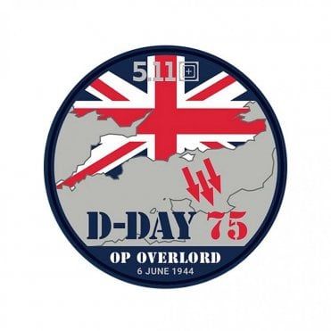 "5.11 Tactical ""D-Day"" 75th Anniversary Patch - Limited Edition"