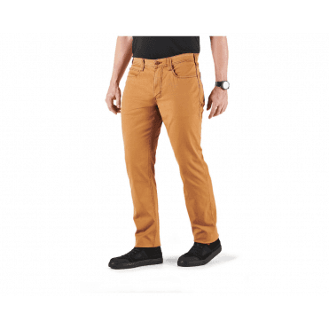 "5.11 Tactical Defender-Flex Range Pants Medium Leg (32"") - Brown Duck"