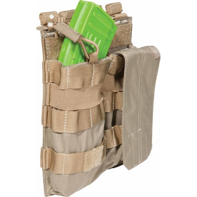 5.11 Tactical Double AK Magazine Bungee Pouch - Sandstone