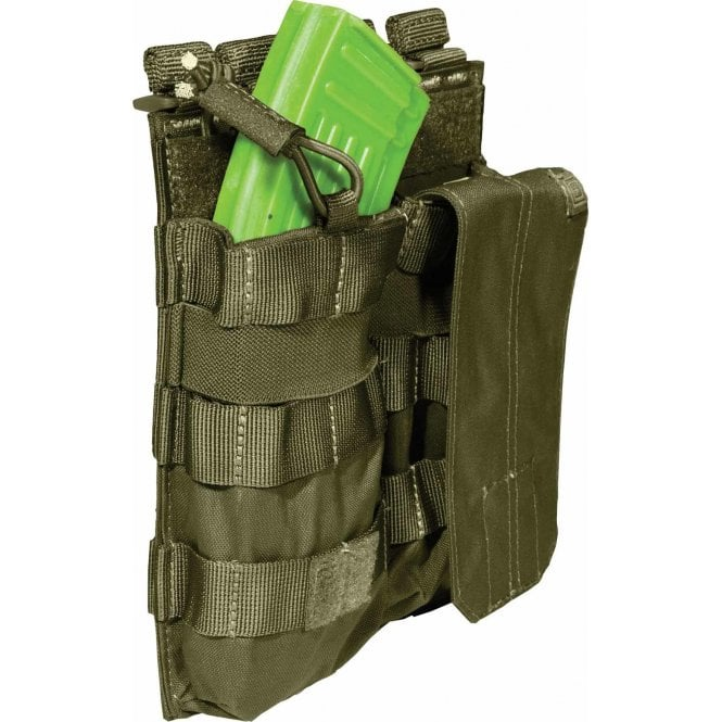 5.11 Tactical Double AK Magazine Bungee Pouch - Tac OD (Green)
