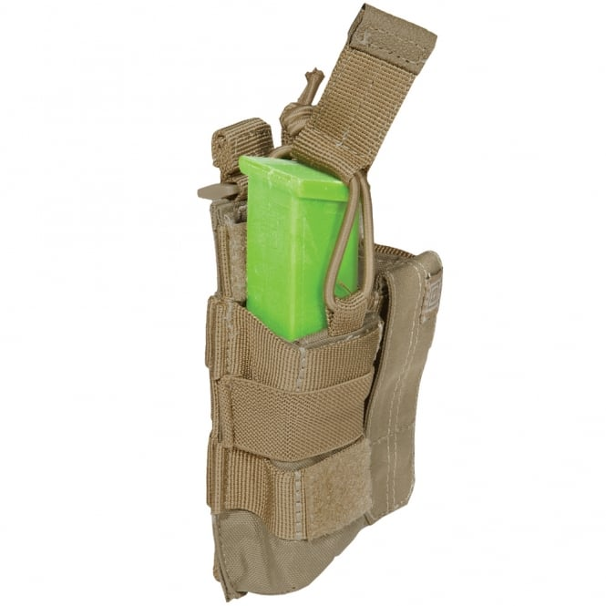 5.11 Tactical Double Pistol Bungee Pouch Sandstone