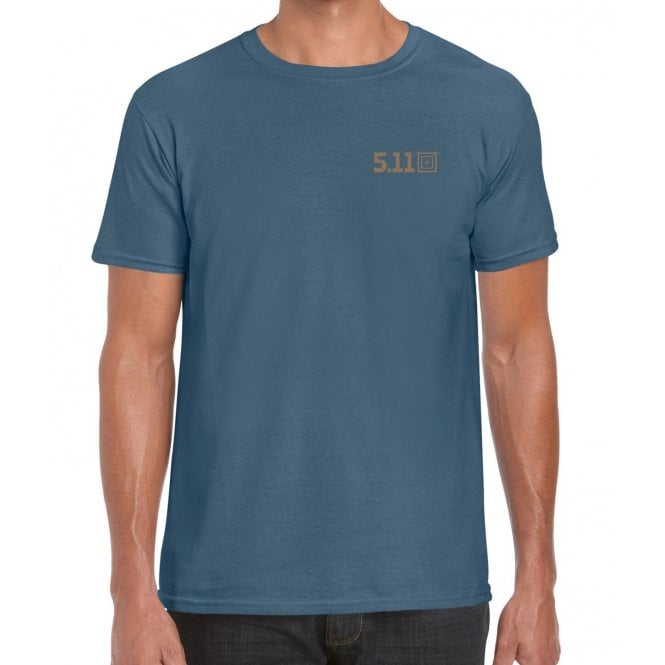 5.11 Tactical Forged By The Sea Tee - Blue
