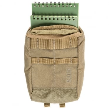 5.11 Tactical Ignitor Notebook Pouch 6.2 Sandstone