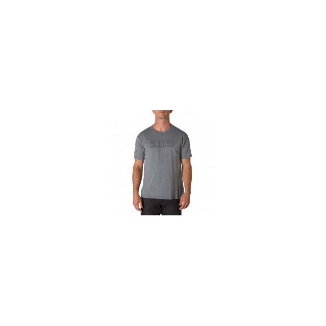 5.11 Tactical Legacy Tonal Tee Charcoal Heather