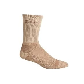"5.11 Tactical Level I 6"" Sock - Sandstone"