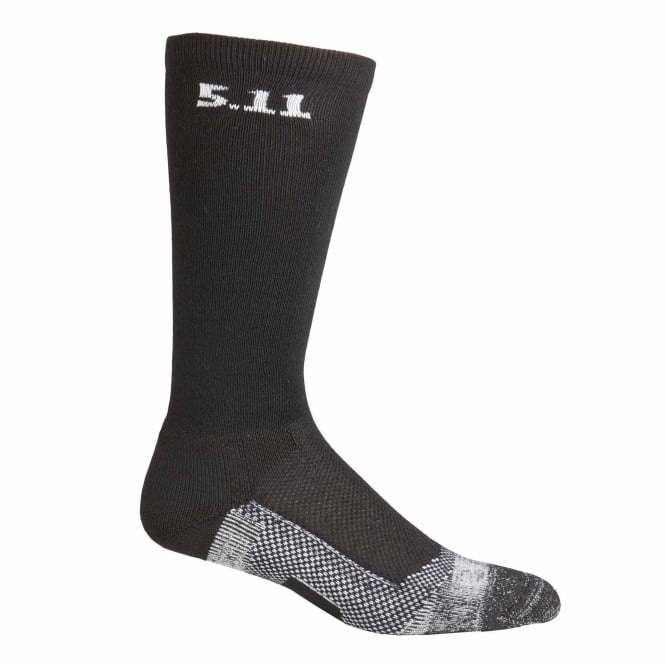 "5.11 Tactical Level I 9"" Sock - Black"