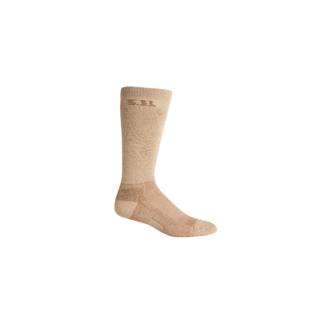 "5.11 Tactical Level I 9"" Sock - Sandstone"