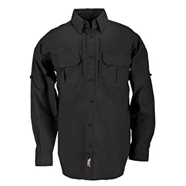 5.11 Tactical Long Sleeved Shirt - Black