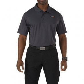 5.11 Tactical Pinnacle Polo Shirt - Charcoal