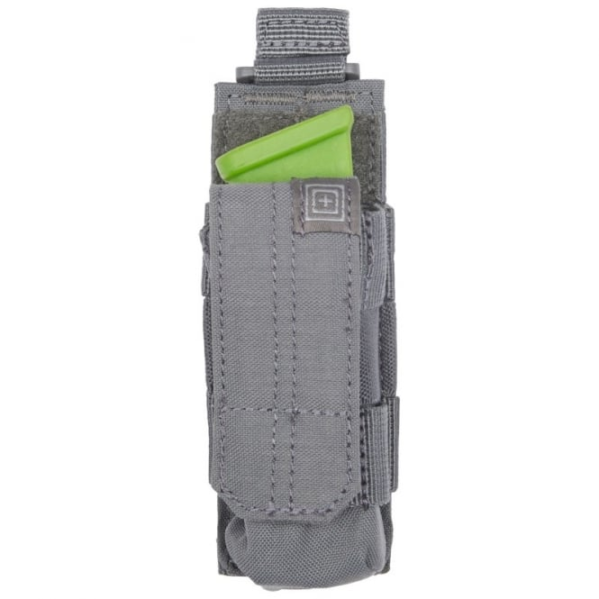5.11 Tactical Pistol Bungee/Cover Magazine Pouch - Storm