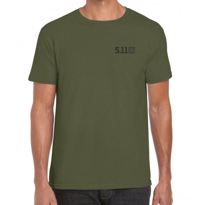 5.11 Tactical Rolling Panzer Tee - Green