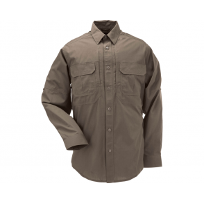 5.11 Tactical Taclite Pro Long Sleeved Shirt - Battle Brown