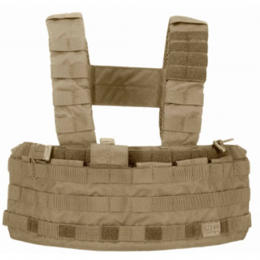 5.11 Tactical TacTec Chest Rig - Sandstone