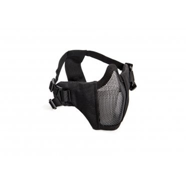 ASG Lower Face Protection Mask with Cheekpads - Black