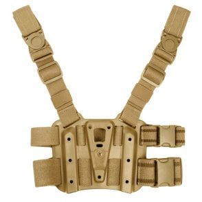Blackhawk! Tactical Holster Leg Platform - Coyote
