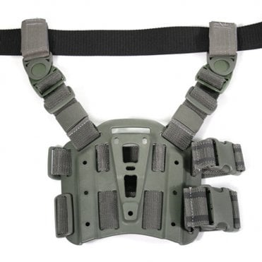 Blackhawk! Tactical Holster Leg Platform - Foliage Green