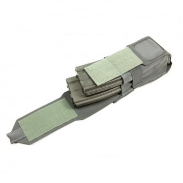 Blue Force Gear Double M4 Magazine Pouch (Wolf Grey)