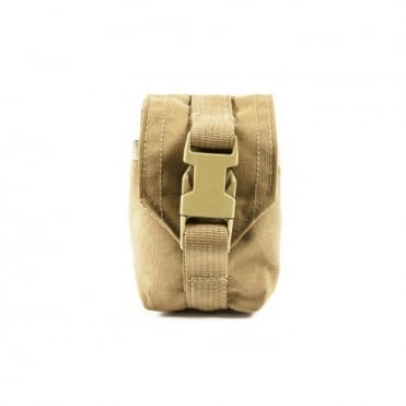 Blue Force Gear Single Frag Grenade Pouch (Coyote Brown)
