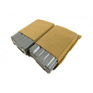 Blue Force Gear double SR25 Mag Pouch (Coyote Brown)