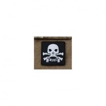 USA 3D PVC Death Or Glory Patch