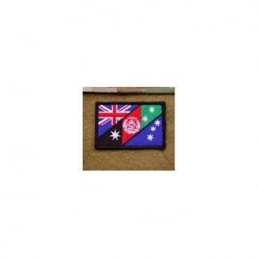 USA Replica Embroidered Australian/Afghan Flag