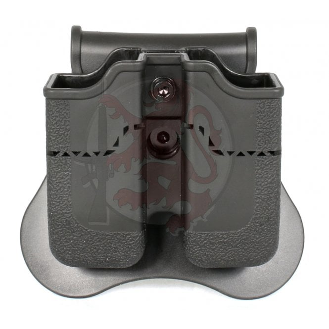 Cytac/Amomax Double Pistol Magazine Holster for Beretta PX4, H&K P30, USP & USP Compact