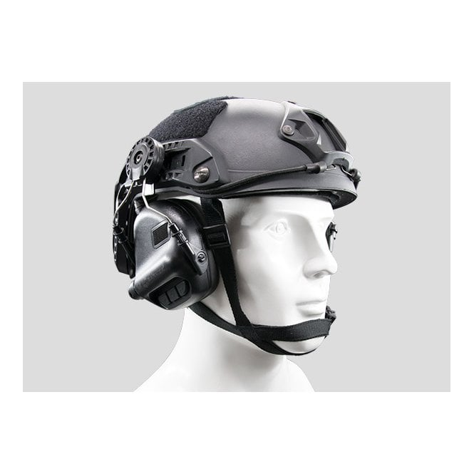 Earmor M31H MOD3 Electronic Hearing Protector for FAST Style Helmets - Black