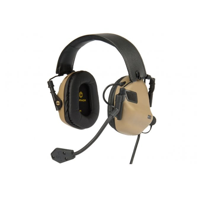 Earmor M32 MOD3 Electronic Communication Hearing Protector - Tan