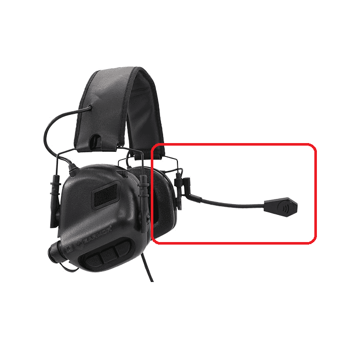 Earmor Spare Mic Boom for M32 Headsets