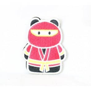 Epik Panda Ninja Patch - Red / Yellow