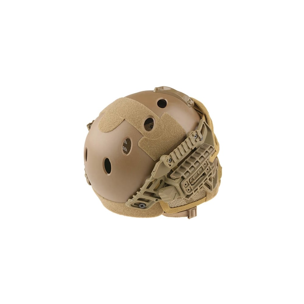 Fast Helmet with Strike Wire Mask Set - Tan - from Tactical Clothing UK