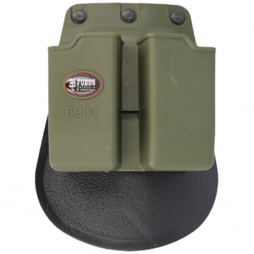 Fobus Glock 9mm Pistol Magazine Holster in Green