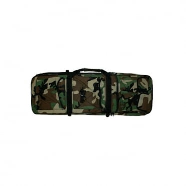 Double Rifle Bag 90cm Woodland
