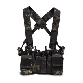 Haley Strategic D3CR-X Chest Rig-Multicam Black