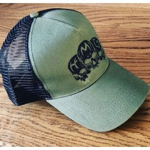 Heavy Machine Gun Clothing HMG Original Logo Embroidered Baseball Cap - Khaki
