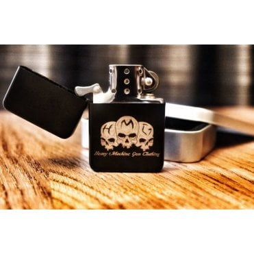 Heavy Machine Gun Clothing HMG Original Logo Star Lighter - Matte Black