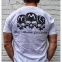 Heavy Machine Gun Clothing HMG Originals Jersey T-Shirt - White