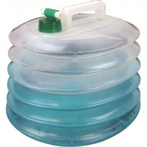 Highlander Outdoor Accordion Water Carrier 15 Litre