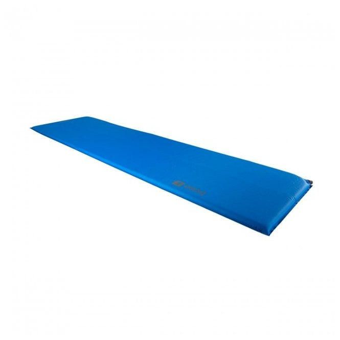Highlander Outdoor Base Large Self Inflate Mat - Blue