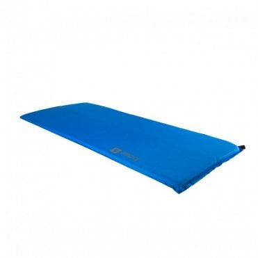 Highlander Outdoor Base Small Self Inflate Mat - Blue
