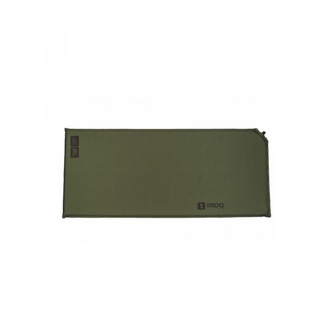 Highlander Outdoor Base Small Self Inflate Mat Olive
