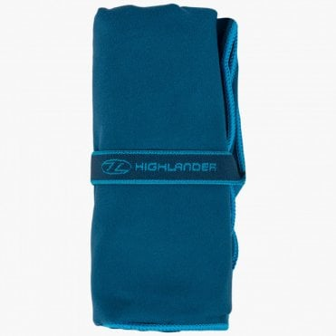 Highlander Outdoor Extra Large Fibresoft Towel - Navy