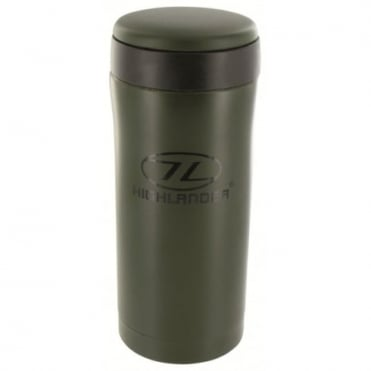 Highland Outdoor Sealed Thermal Mug Olive