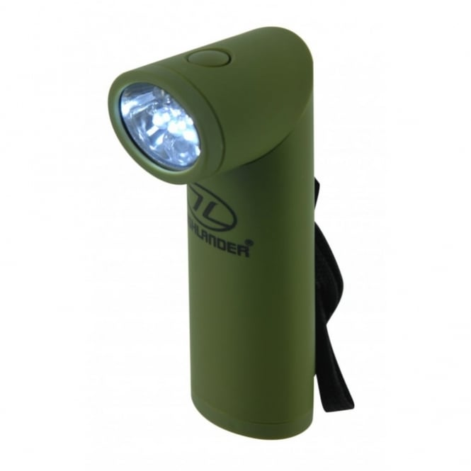 Highlander Outdoor Kadar Olive Green Torch
