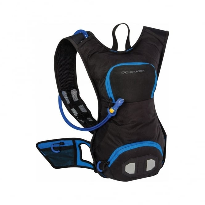 Highlander Outdoor Raptor 10 Hydration Pack Black/Blue