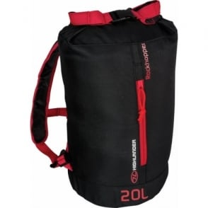 Highlander Outdoor Rockhopper 20 - Black/Red